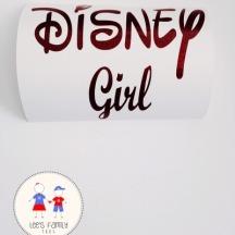 Decal.Disney Girl